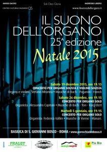 Concerto per organo e violino solisti @ Basilica di S. Giovanni Bosco | Palermo | Sicilia | Italia